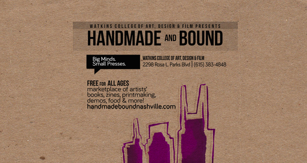 Handmade and Bound | Big Minds. Small Presses.